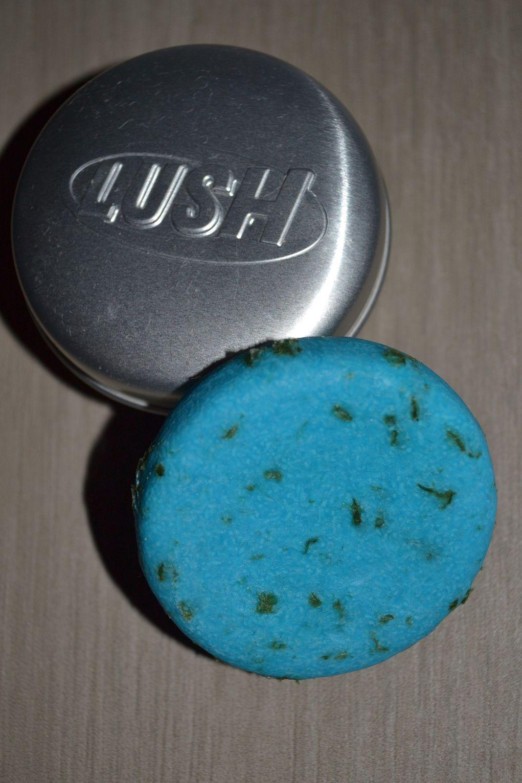 ...le shampoing solide Oceanix de Lush