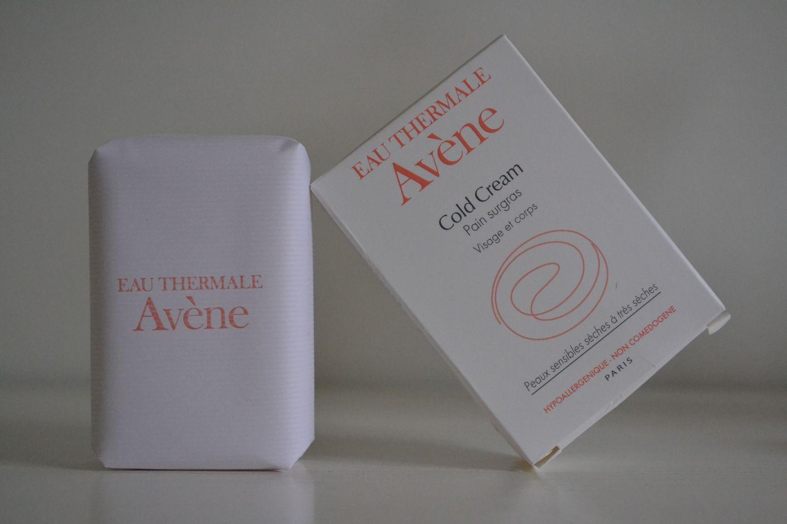 ... Le savon Avène surgras
