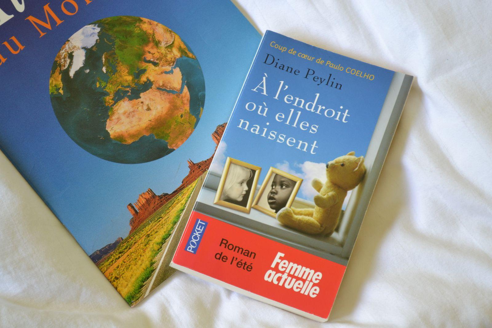 ... le livre coup de coeur : A l'endroit où elles naissent, de Diane Peylin