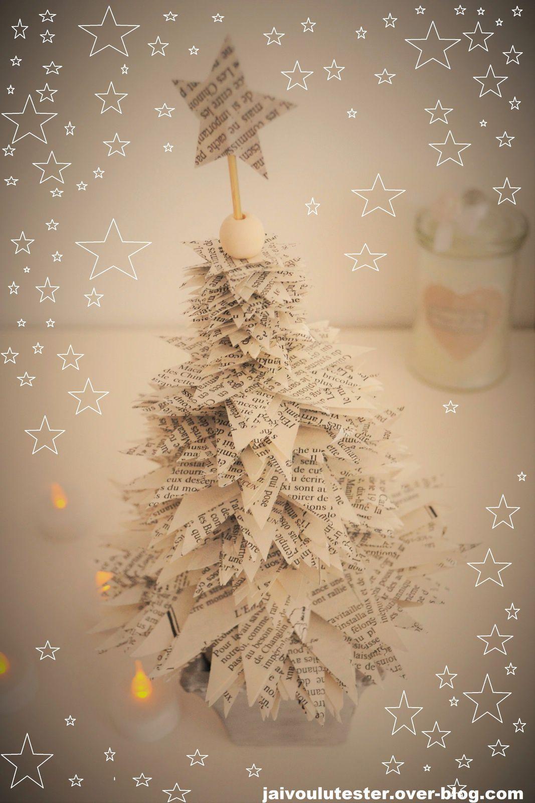 ... le DIY spécial Noël (#1): le sapin façon récup'