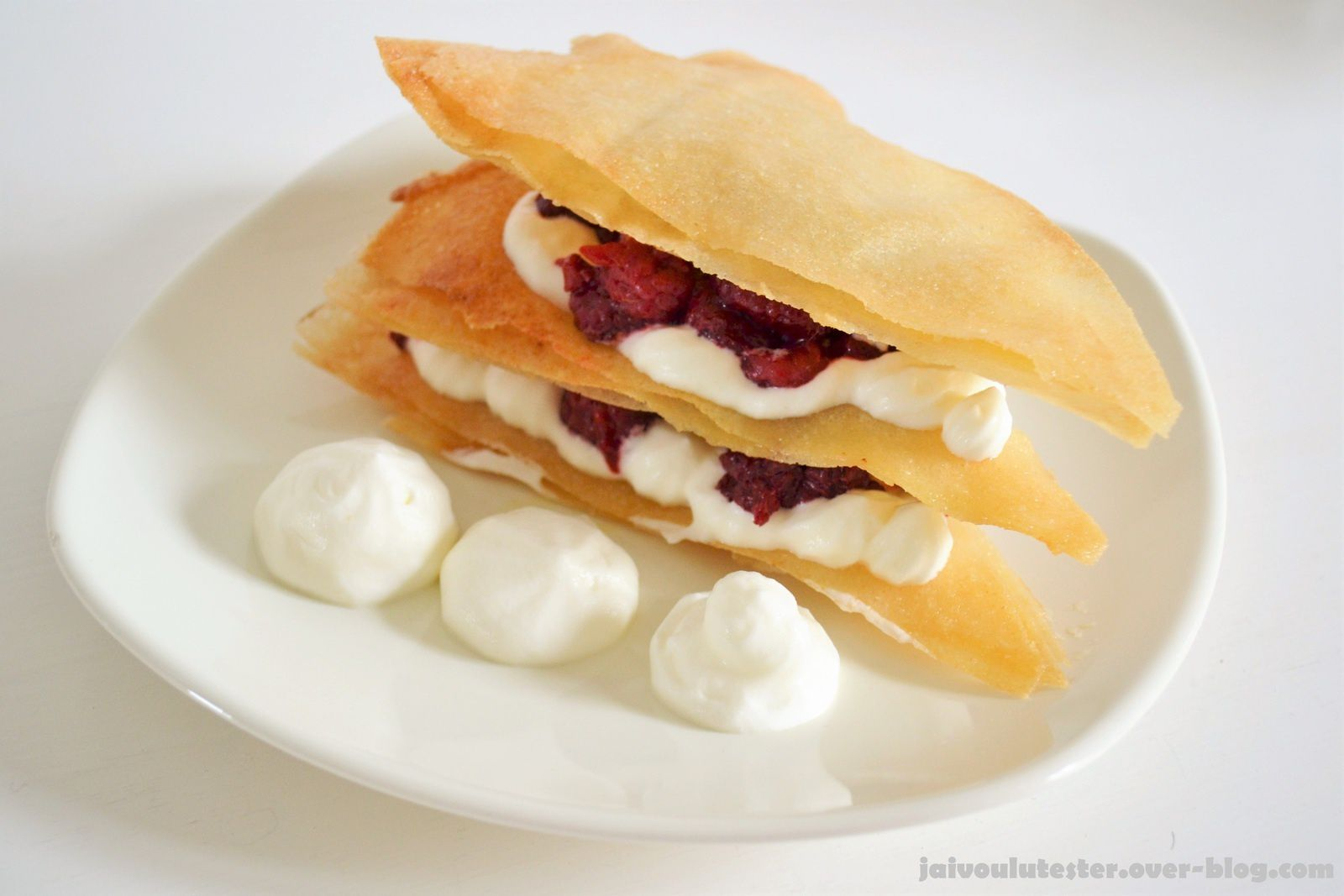 ... le millefeuille rapidos