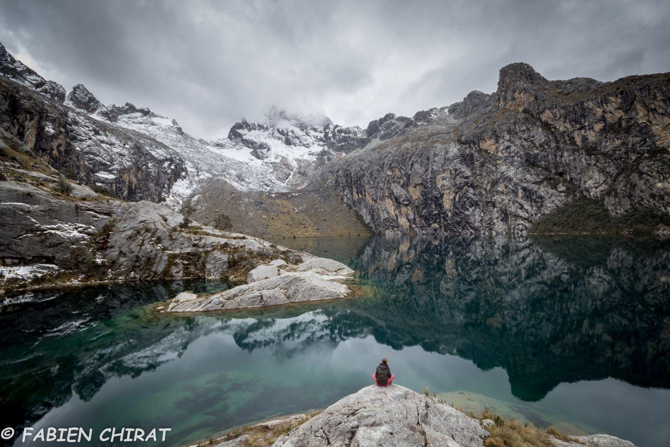 La laguna CHURUP 4450 m