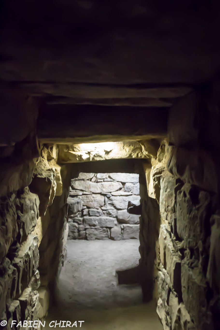 Dans les corridors du temple