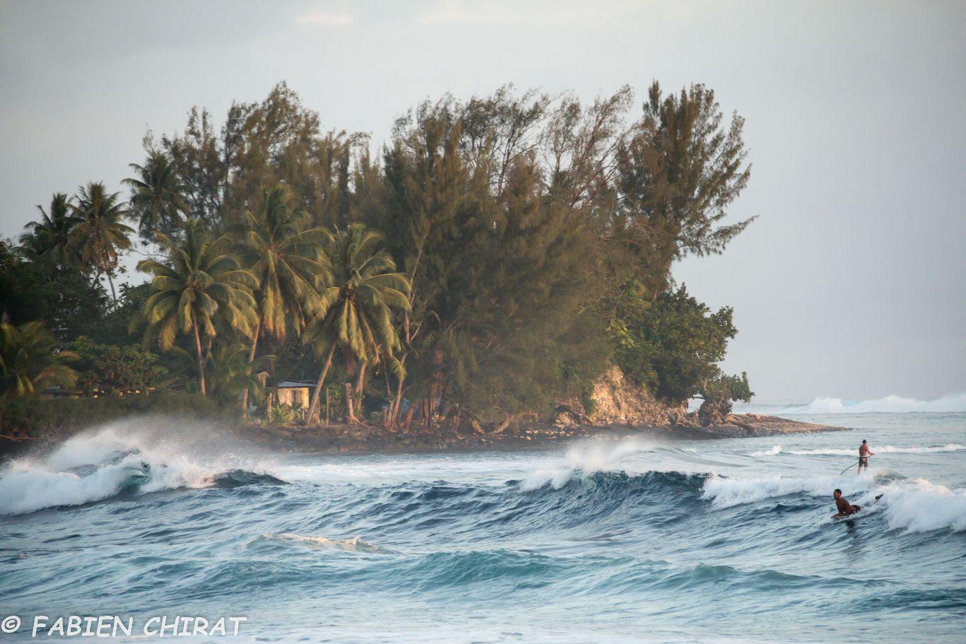 Surf et paddle à TAHITI