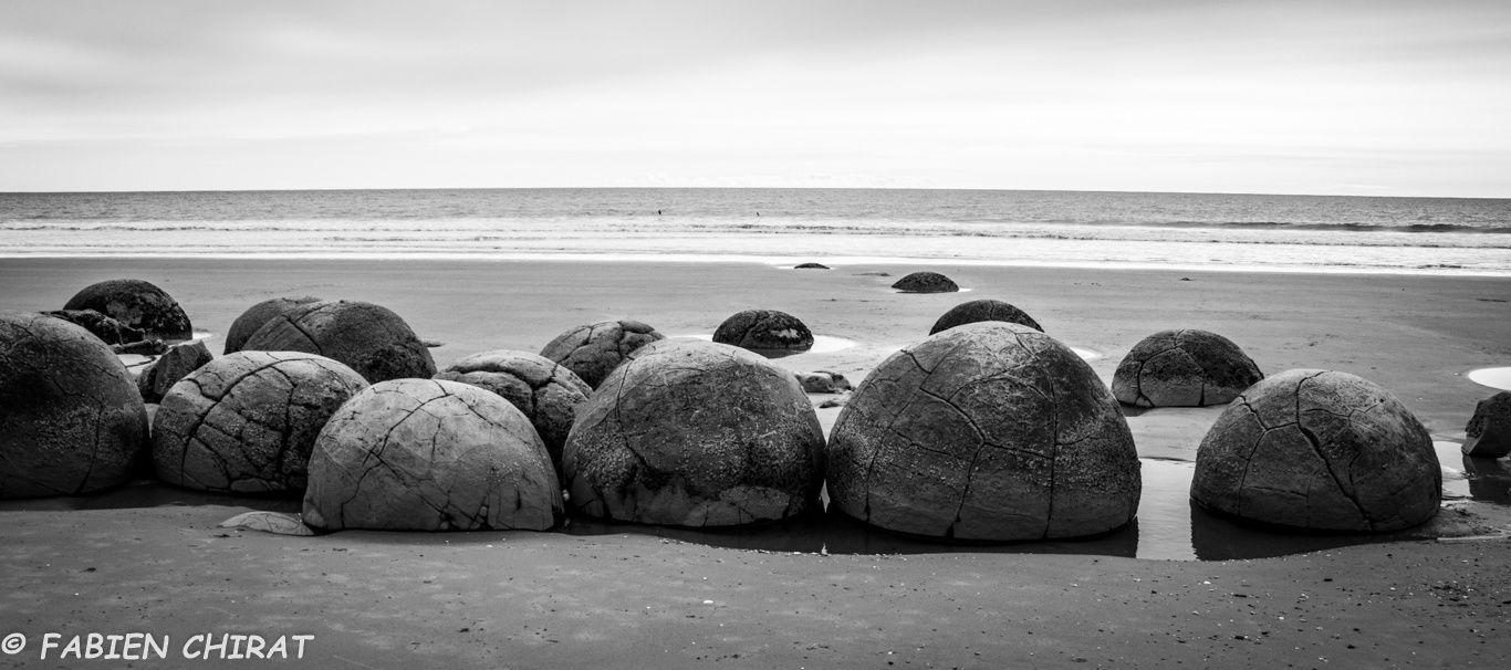 MOERAKI Boulders'rocks
