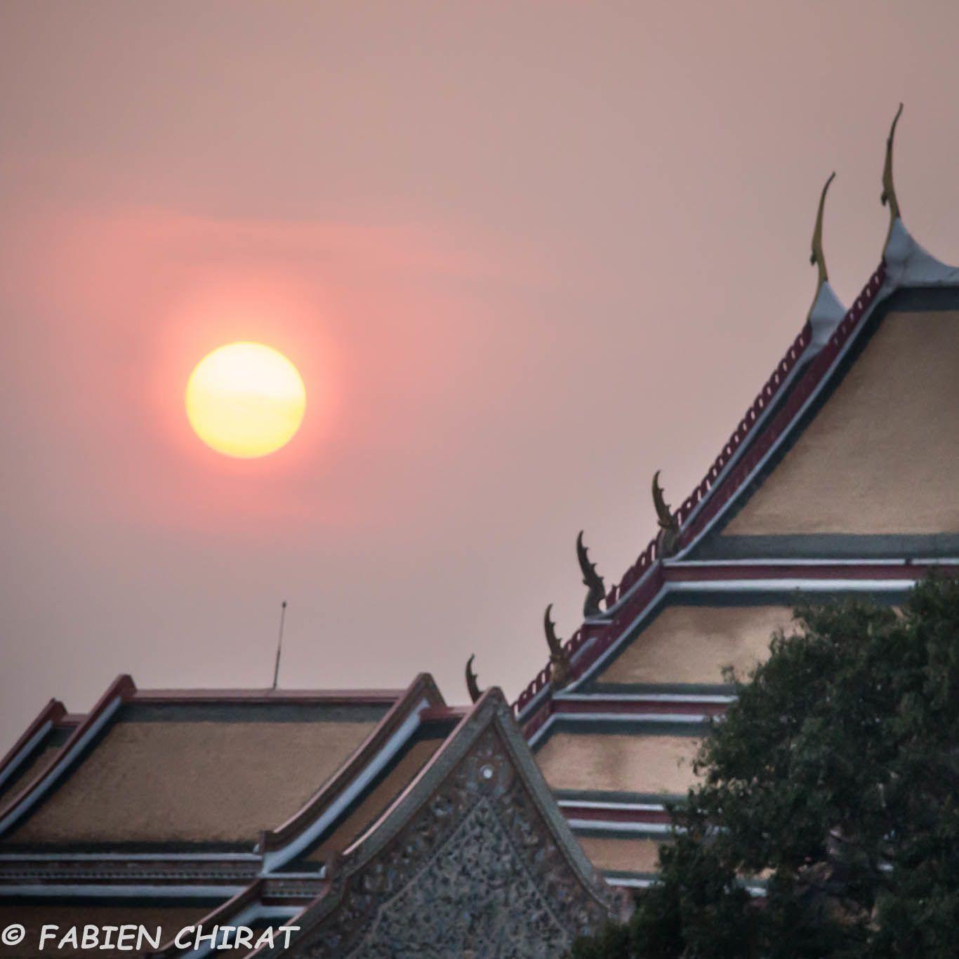 Coucher de soleil d'Orient
