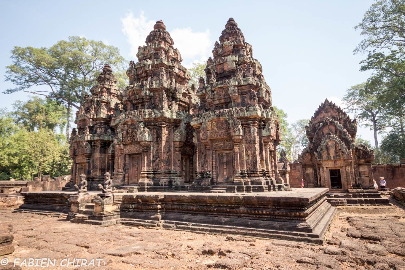 Temple de Preah Khan, un des temple où il y a le plus de sculptures