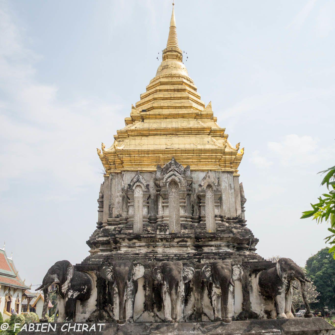 Temple à Chang mai.