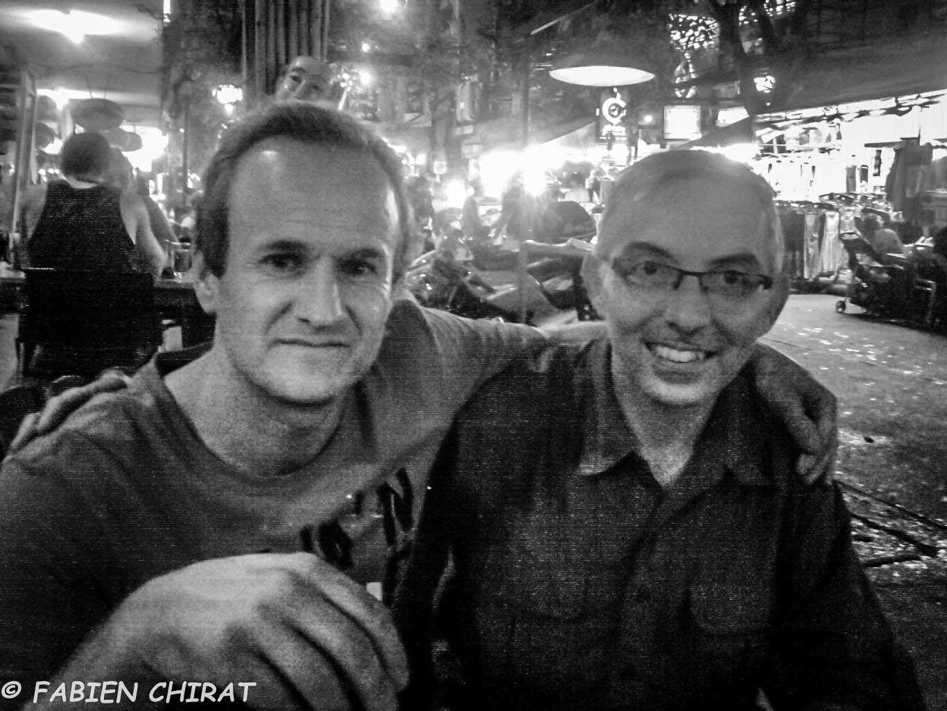 Retrouvailles avec Alain à Bangkok
