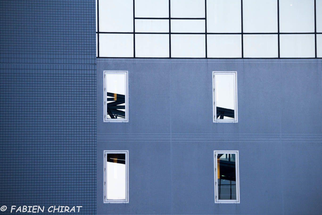 Quelques photos d'architectures modernes dans Kyoto.