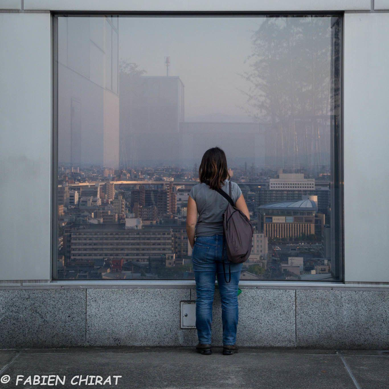 Fenêtre sur la ville.