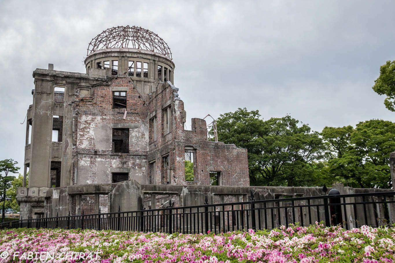 Le mémorial de la paix d''Hiroshima, le dôme de Genbaku.