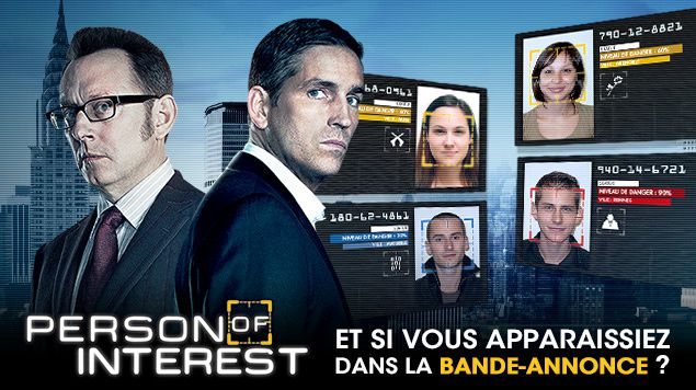Participez à la bande annonce du final de la saison 2 de Person of Interest