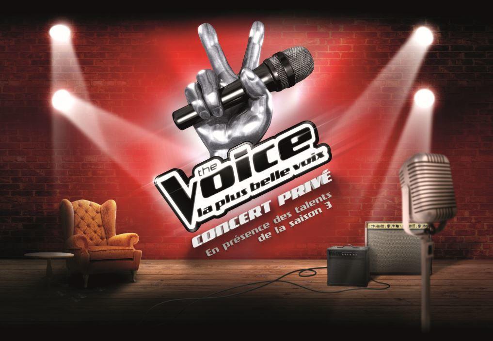 Les talents de The Voice en concerts privés près de chez vous