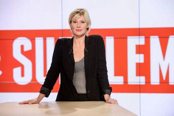 Amanda Lear invitée de Le supplément sur Canal+