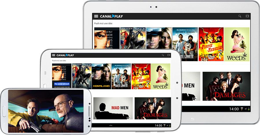 Canalplay a lancé une nouvelle application mobile