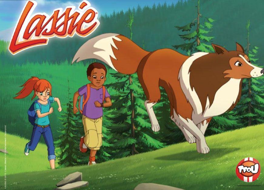 Lassie de retour dans une série animée prochainement dans TFOU
