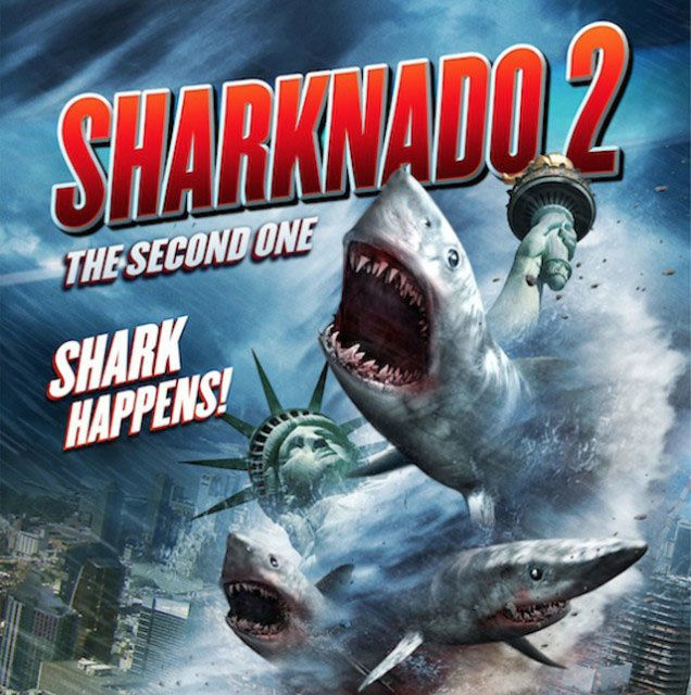 Assistez à la projection de Sharknado 2 au MK2 Quai de Loire !
