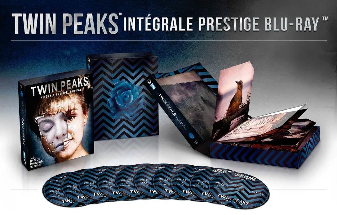 La série culte « Twin Peaks » disponible dans un coffret blu-ray (vidéo) !