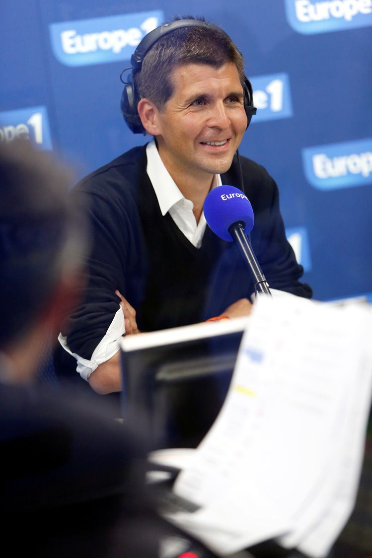 Thomas Sotto (Crédit photo : Marie Etchegoyen -Capa Pictures - Europe 1)