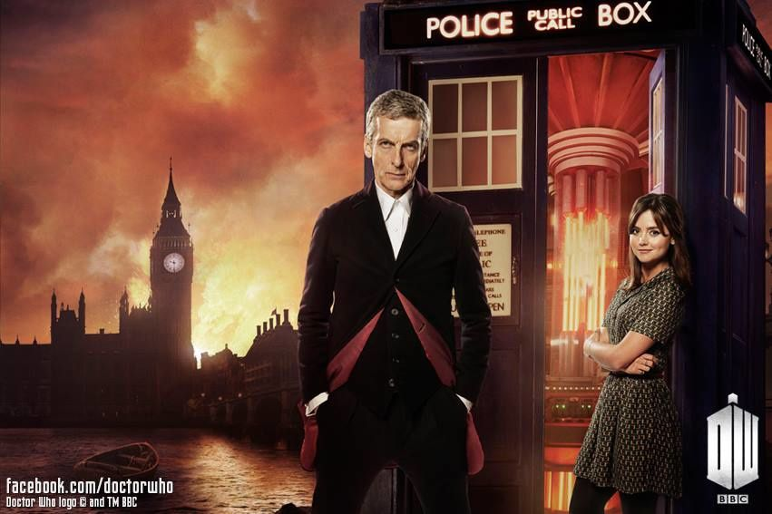 Doctor Who & Clara (Crédit photo : Page Facebook Doctor Who / BBC)