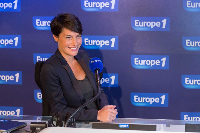 Alessandra Sublet (Crédit photo : Capa Pictures-Europe 1 / Wladimir Simitch)