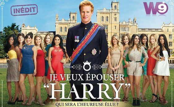 "Je veux épouser ""Harry"" (Crédit photo :  Shine France / Fluide / W9)"