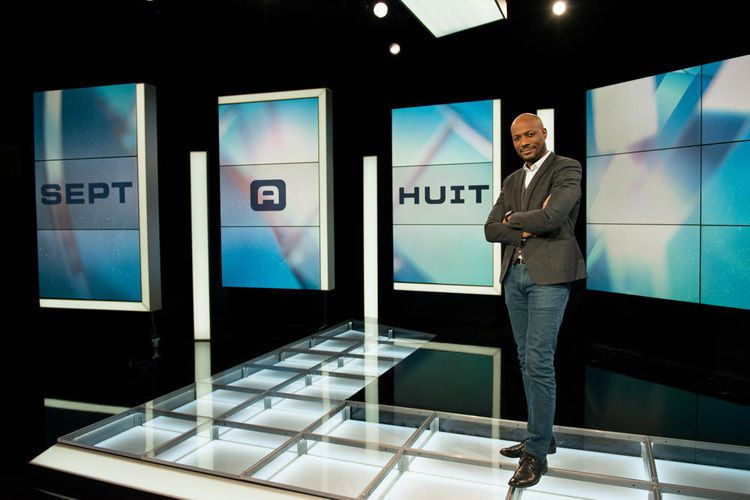 Harry Roselmack (Crédit photo : Christophe Charzat / TF1)
