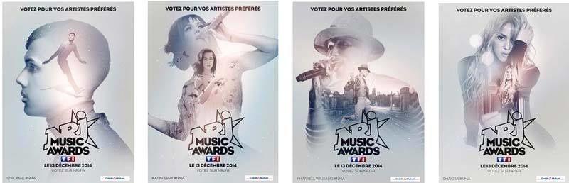 NRJ Music Awards - Liste définitive des nommés et ouverture des votes