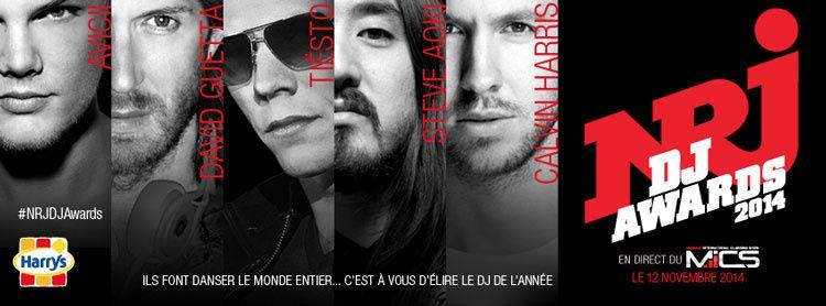Le palmarès des NRJ DJ Awards 2014