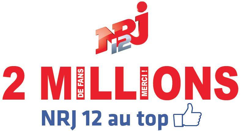 La page Facebook de NRJ 12 passe le cap des 2 millions de fans !