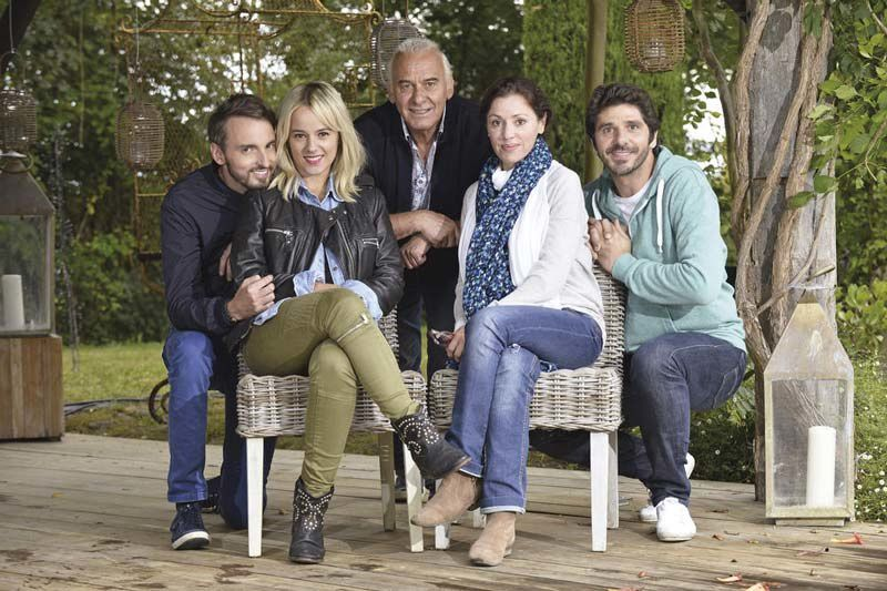 Christophe Willem, Alizee, Michel Fugain, Tina Arena, Patrick Fiori (Crédit Photo : TF1 / Lydie Lecarpentier)