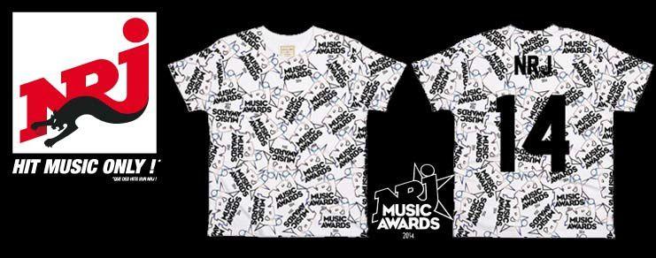 NRJ et ElevenParis lancent une édition limitée de T-shirts pour les NRJ Music Awards