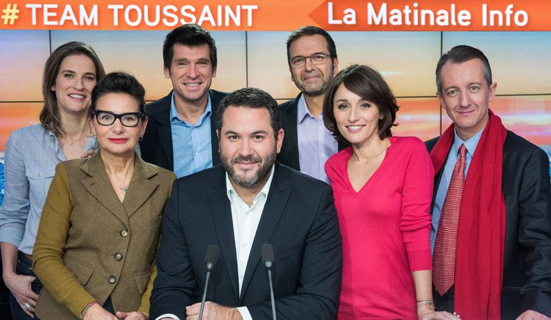 La #Team Toussaint (Crédit photo : Jeff Lanet / iTÉLÉ)