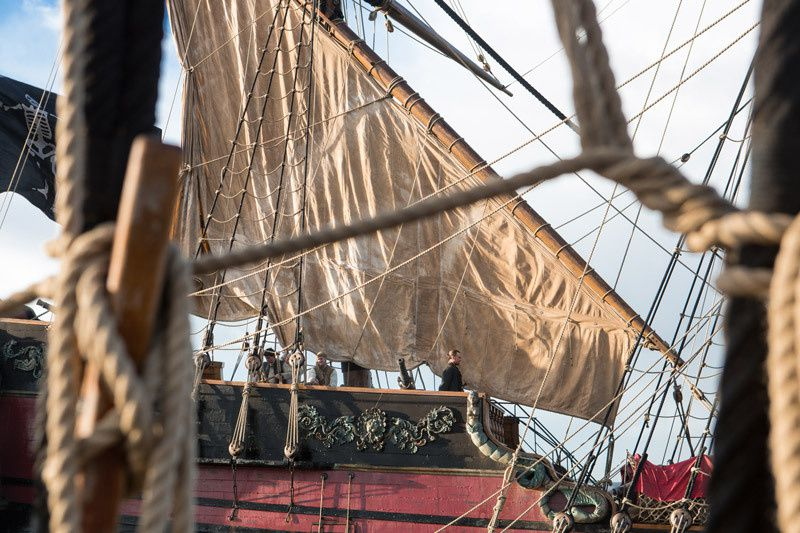 Black Sails (Crédit photo : 2014 Starz Entertainment, LLC. All rights reserved)