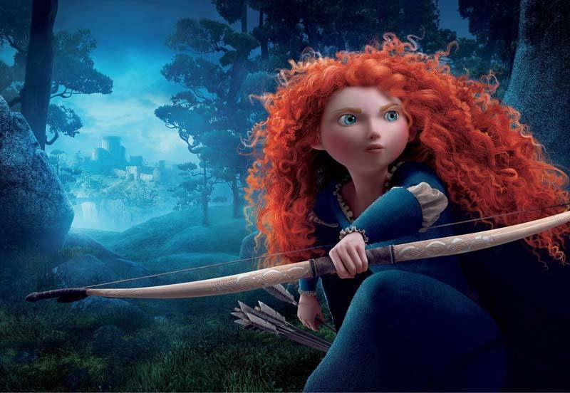 "Merida dans ""Rebelle"" (Crédit photo : ABC Studios)"