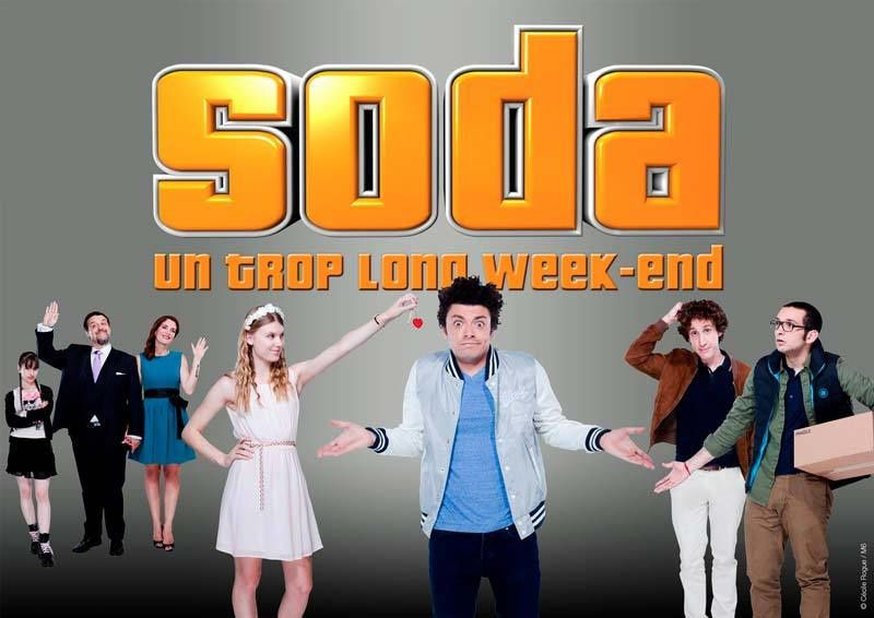 Soda : Un trop long week-end (Crédit photo : Cécile Rogue / M6)