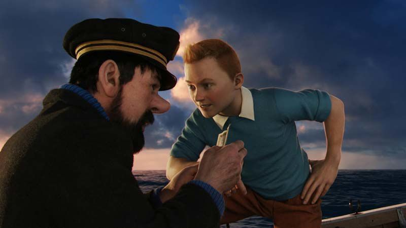 Tintin et le secret de la licorne (Crédit photo : Columbia Pictures Industries, Inc., DW Studios L.L.C. and Hemisphere - Culver Picture Partners I, LLC. All Rights Reserved.)
