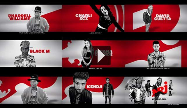 Coldplay, Maroon 5, Pharrell Williams, Ariana Grande (...) dans une nouvelle campagne pour NRJ