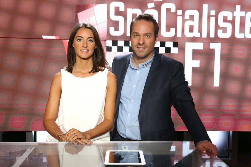 Margot Laffite et Julien Fébreau (Crédit photo : Daniel Bardou / Canal+)