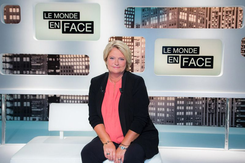 Marina Carrère d'Encausse (Crédit photo : Delphine Ghosarossian / Sipa / pour FTV)