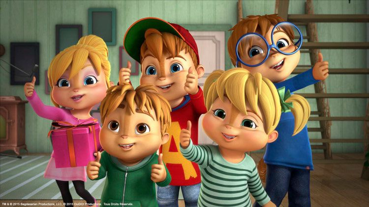 Alvinnnn !!! et les Chipmunks (Crédit photo : Bagdasarian-Productions-Ouido!-Productions)