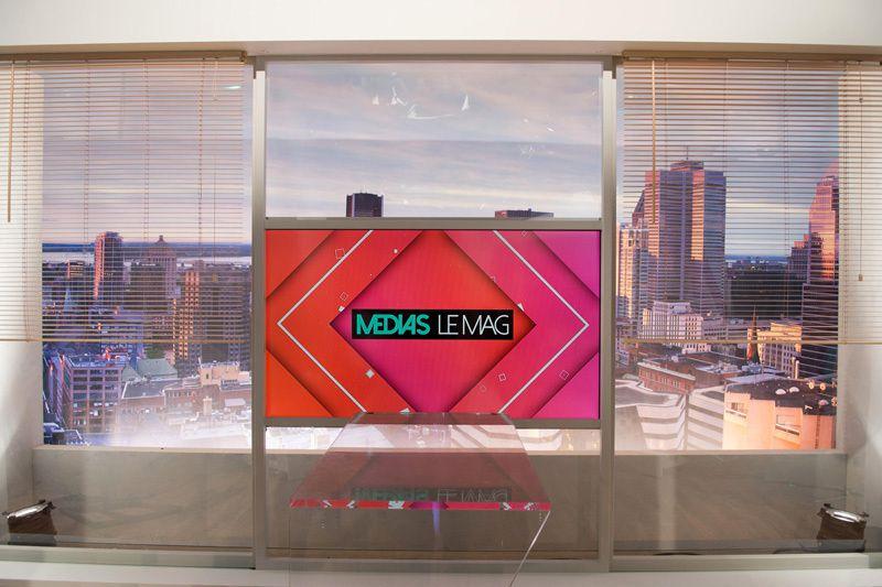 Médias le Mag (Crédit photo : Christophe Fillieule / La Fabrik pour FTV)
