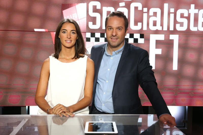 Margot Laffite et Julien Fébreau (Crédit photo : Daniel Bardou / Canal+)