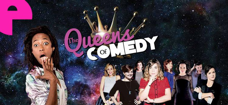Shirley Souagnon aux commandes de &quot&#x3B;Queens of Comedy&quot&#x3B; sur L'Enorme TV