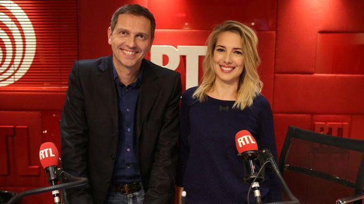 Thomas Hugues et Sidonie Bonnec (Crédit photo : Abacapress)