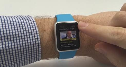 ITELE disponible sur l'Apple Watch