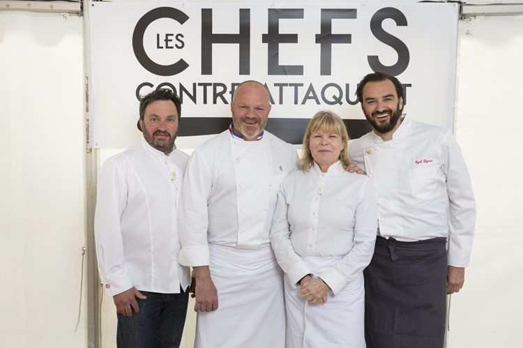 Les chefs contre-attaquent (Crédit photo : JUlien Knaub / M6)