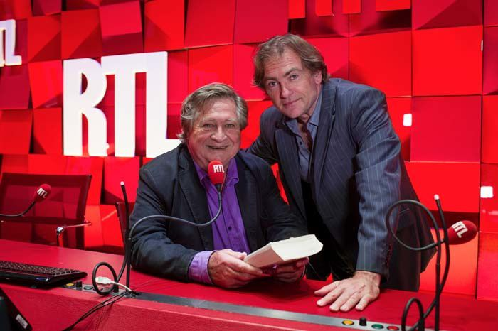 Jacques Pradel et Didier Van Cauwelaert (Crédit photo : Fred Bukajlo - Abaca Press pour RTL)