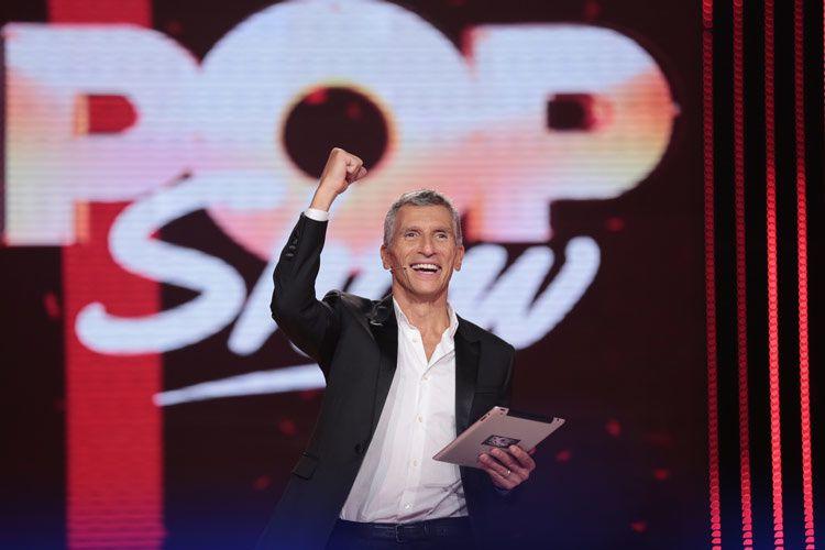 Nagui dans Pop Show (Crédit photo : Gilles Gustine / France 2)